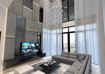 High Ceiling House